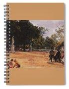 Paris The Luxembourg Park Zinaida Serebryakova Spiral Notebook