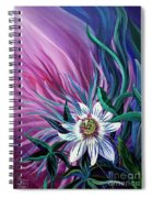 Passion Flower Spiral Notebook