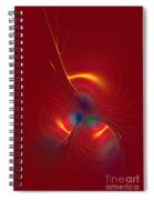 Passion In Red Spiral Notebook