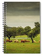 Pasturing Cows Spiral Notebook