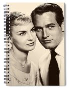 Paul Newman And Joanne Woodward In The Long Hot Summer 1958 Spiral Notebook