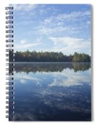 Pauper Lake Reflections Spiral Notebook