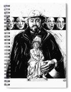 Pavarotti, Fidelio, Inking Spiral Notebook
