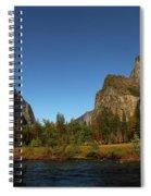 Peaceful Merced River Spiral Notebook