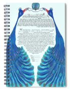 Peacocs Ketubah Spiral Notebook