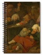 Peasant Party Drink Spiral Notebook