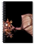 Persian Carpet Flower Spiral Notebook