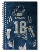 Peyton Manning Colts 2 Spiral Notebook