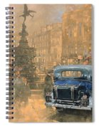 Phantom In Piccadilly  Spiral Notebook