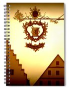 Pharmacy Sign In Rothenburg Spiral Notebook
