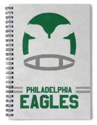 Philadelphia Eagles Vintage Art Spiral Notebook