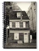 Philadelphia - The Betsy Ross House Spiral Notebook
