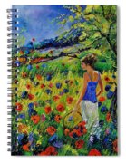 Picking Flowers Spiral Notebook
