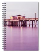 Pier In The Sea, Gulf State Park Pier Spiral Notebook