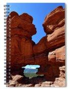 Pikes Peak Through Natural Window Spiral Notebook