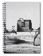 Pilgrimage To Mecca Spiral Notebook