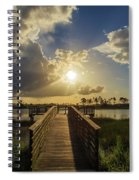 Pine Glades Sunset Spiral Notebook