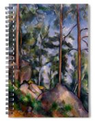 Pines And Rocks Spiral Notebook