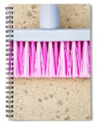 Pink Broom Spiral Notebook