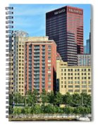 Pittsburgh Building Cluster Spiral Notebook