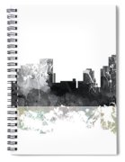 Pittsburgh Pennsylvania Skyline Spiral Notebook