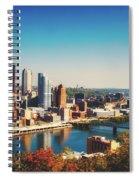 Pittsburgh Skyline Spiral Notebook