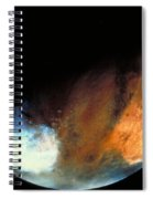 Planet Mars Spiral Notebook