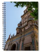 Plaza De Espana - Seville - Spain  Spiral Notebook