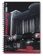 Plaza Theater Us Mexico Border Town Nuevo Laredo Nuevo Leon Mexico Collage 1977-2012 Spiral Notebook