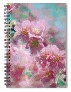 Plum Blossom - Bring On Spring Series Spiral Notebook
