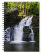 Pocono Mountains - Flowing Cascades Spiral Notebook