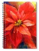 Poinsettia Spiral Notebook