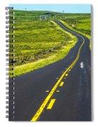 Point Reyes National Seashore Coast On Pacific Ocean Spiral Notebook