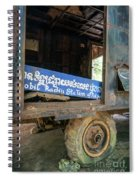 Pol Pot Mobile Khmer Rouge Radio Station Anlong Veng Cambodia Spiral Notebook