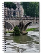 Ponte Sant'angelo Spiral Notebook