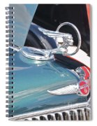 1933 Pontiac Eight Hood Ornament Spiral Notebook