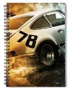 Porsche Carrera Rsr, 1973 - 20 Spiral Notebook