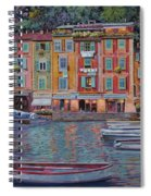 Portofino Al Crepuscolo Spiral Notebook