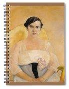 Portrait Of A Lady Boris Grigoriev Spiral Notebook