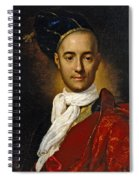Portrait Of A Young Nobleman Spiral Notebook