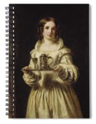 Portrait Of Anne Page Spiral Notebook