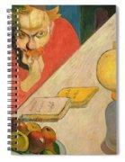 Portrait Of Jacob Meyer De Haan Spiral Notebook