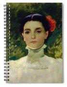 Portrait Of Maggie Wilson Spiral Notebook