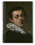 Portrait Of Painter Josef Heintz Spiral Notebook