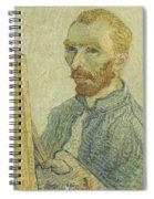 Portrait Of Vincent Van Gogh Spiral Notebook