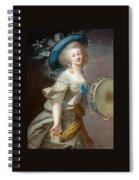 Portrait Une Danseuse Au Tambourin Lisabeth Louise Vige Le Brun Spiral Notebook