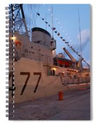 Portuguese Navy Frigates Spiral Notebook