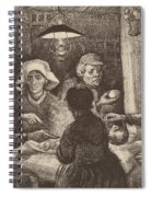 Potato Eaters, 1885 Spiral Notebook