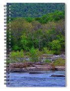 Potomac River Near Harpers Ferry Spiral Notebook