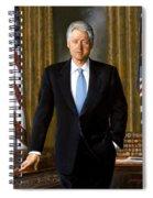 President Bill Clinton Spiral Notebook